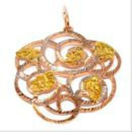 Ювелирные украшения с золотыми самородками высшей 850-950 пробы. 5