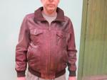 Куртка кожаная Франция OAKWOOD