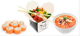 Азиатская кухня с бесплатной доставкой на дом