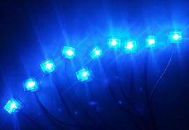 Многоточечная подсветка салона 3