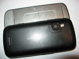 Nokia C6-00 The Best Symbian Black White 4