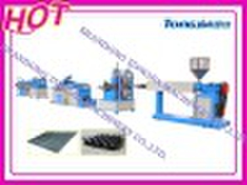 plastic machine Plastic Drainage Panel Machine