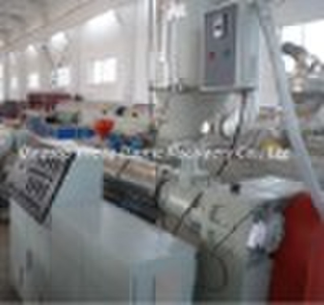 PP plastic pipe production line,plastic machinery,