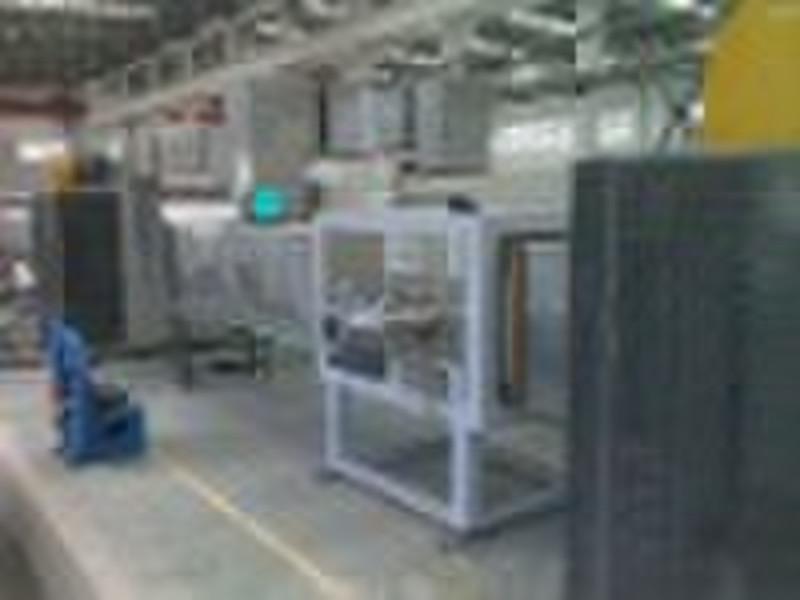 Aluminum coil coating line
