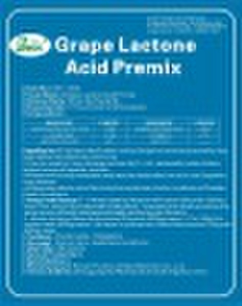 Grape Lactone Acid Premix & MY-1045