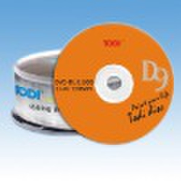 Double layer DVD-R