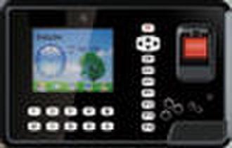 Color Screen Fingerprint Time Attendance Access Co