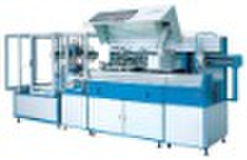 Exclusive full automatic uv curing and screen prin