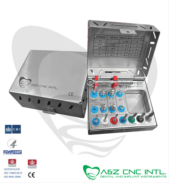 Dental Implant Surgical Drills Kit