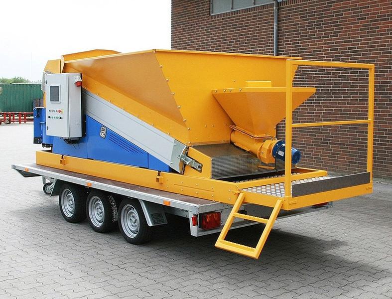 Mobile concrete plant Sumab Mini RBU, BSU