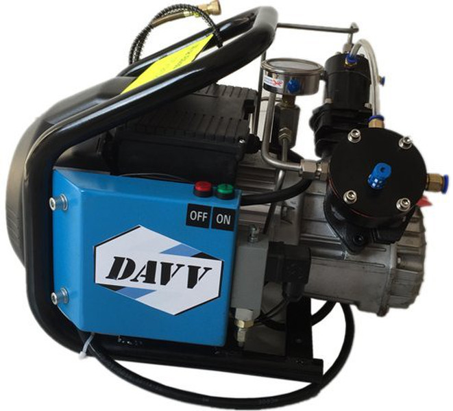davy paintball fill station high pressure air compressor scu60