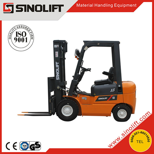 Sinolift CPCD15-W 1.5 Tonne Japanese Isuzu engine powered forklifts