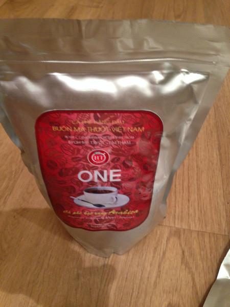 Вьетнамский кофе  в зернах оптом.