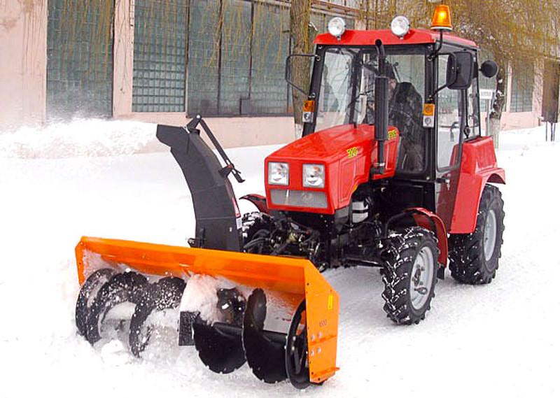 Tractor snow blower ST-1500 K MTZ-320