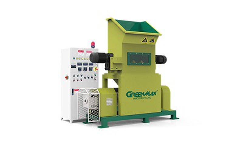 GREENMAX M-C100 EPS foam recycling densifier