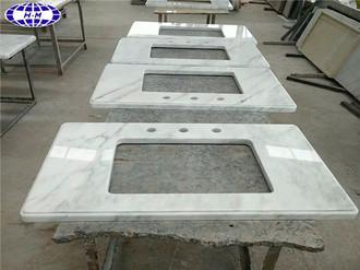 Chinese White Marble Vanity Tops