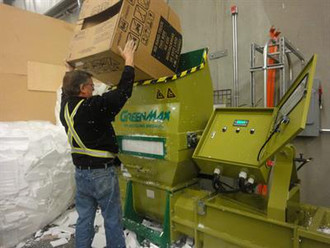 Hot sale styrofoam densifier GREENMAX APOLO C200