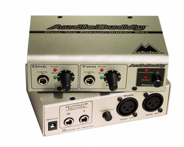 Pinnacle Audio Buddy, Budget Microphone Preamp AV ресивер