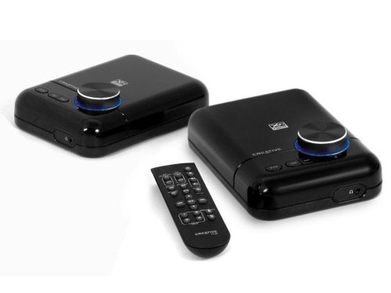 Creative Labs Creative Xmod Wireless Music System Черный AV ресивер