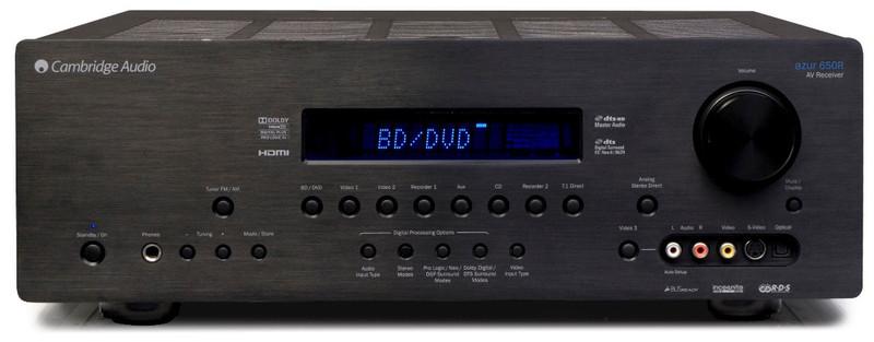 Cambridge Azur 650R 100Вт 7.1 Surround Черный