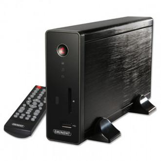 Eminent EM7167 1920 x 1080пикселей Черный медиаплеер