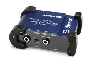 Samson S-direct Direct Box Синий AV ресивер