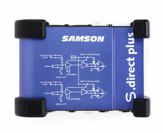 Samson S-direct plus Синий AV ресивер