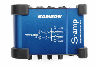 Samson S-amp Headphone Amplifier Синий AV ресивер