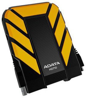 ADATA 1TB DashDrive Durable HD710 USB Type-A 3.0 (3.1 Gen 1) 1000ГБ Желтый