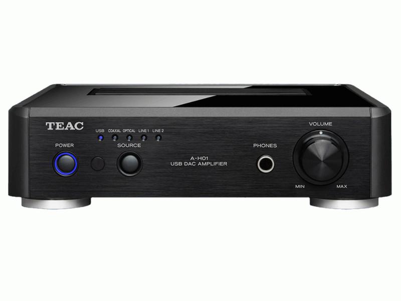 TEAC A-H01 2.0 Дома Проводная Черный усилитель звуковой частоты