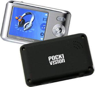 iDream Mini Pockivision Media Player 1GB + Mini SD Slot