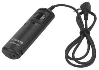 Canon RS-60E3 Проводная Нажимные кнопки Черный пульт дистанционного управления