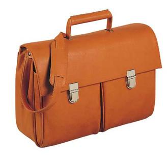 Orna New Time Сумка для путешествий Кожа Черный, Оранжевый