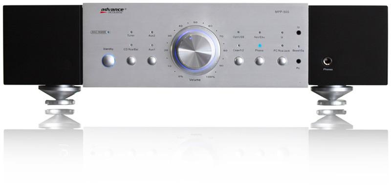 Advance Acoustic MPP 506 Дома Проводная Черный, Белый усилитель звуковой частоты