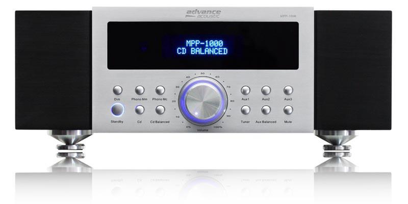 Advance Acoustic MPP 1000 Дома Проводная Черный, Белый усилитель звуковой частоты