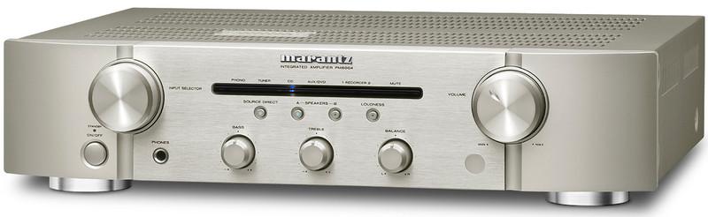 Marantz PM6004SG 2.0 Дома Проводная Золотой, Cеребряный усилитель звуковой частоты