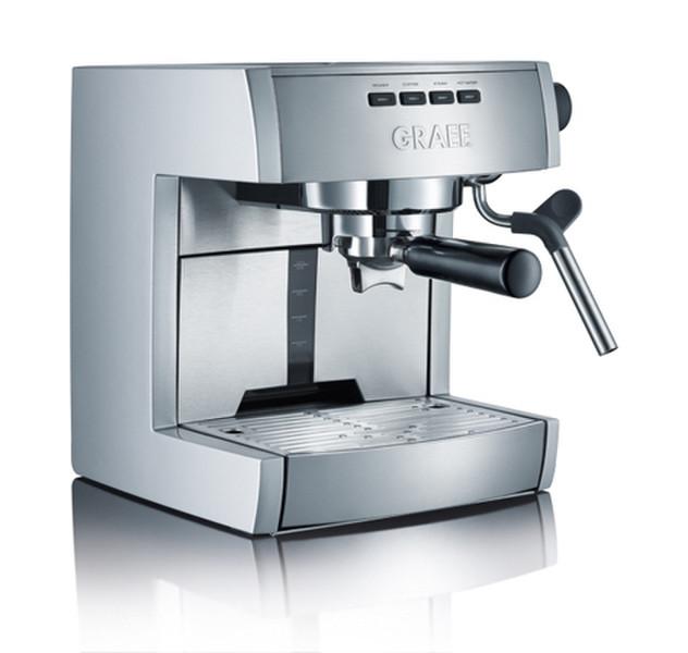 Graef ES 70 Espresso machine 2.5л 2чашек Нержавеющая сталь кофеварка