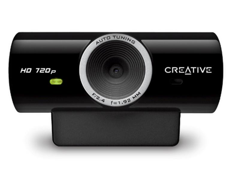 Creative Labs Live! Cam Sync HD 3МП 1280 x 720пикселей USB 2.0 Черный вебкамера