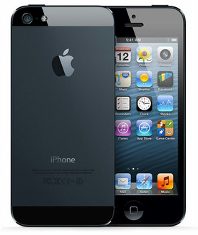 Apple iPhone 5 Одна SIM-карта 4G 32ГБ Черный смартфон