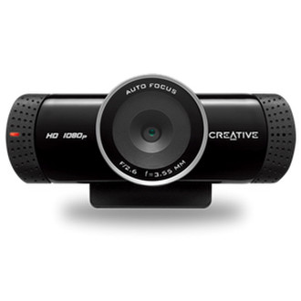 Creative Labs Live! Cam Connect HD 1080 5МП 1920 x 1080пикселей USB 2.0 Черный