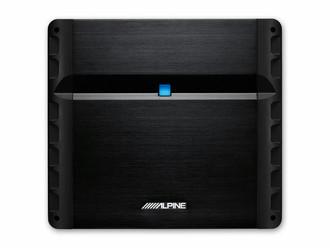 Alpine PMX-F640 4.0 Автомобиль Проводная Алюминиевый, Черный усилитель звуковой частоты