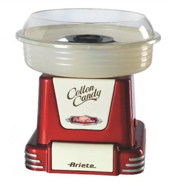 Ariete Cotton Candy Party Time 450Вт Бежевый, Красный аппарат для приготовления сахарной ваты
