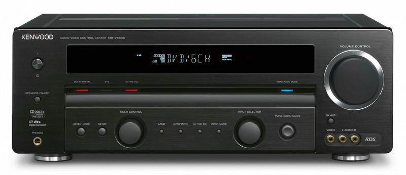 Kenwood Electronics 5-Kanal AV-Receiver Черный AV ресивер