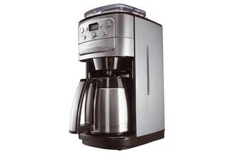 Cuisinart DGB900BCE Отдельностоящий Капельная кофеварка 1.8л 12чашек Нержавеющая сталь кофеварка