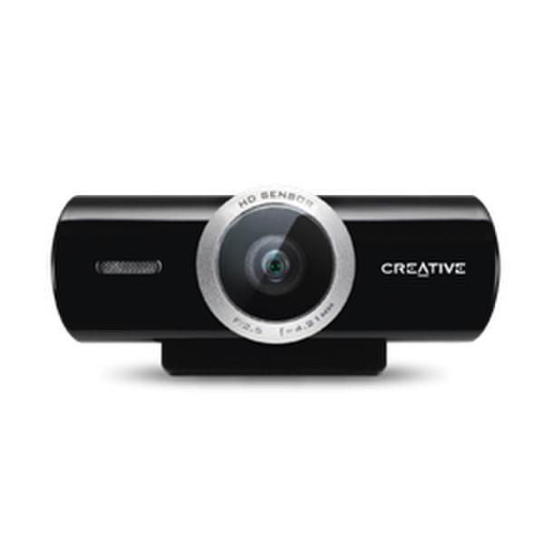 Creative Labs Live! Cam Socialize HD 8МП 1280 x 720пикселей USB 2.0 Черный