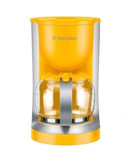 Electrolux EKF3130 Капельная кофеварка 1.4л 10чашек Cеребряный, Желтый