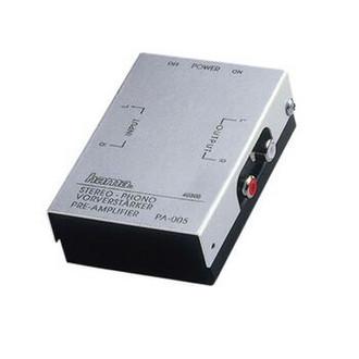 Hama Stereo Phono Preamplifier PA 005 Черный, Cеребряный AV ресивер