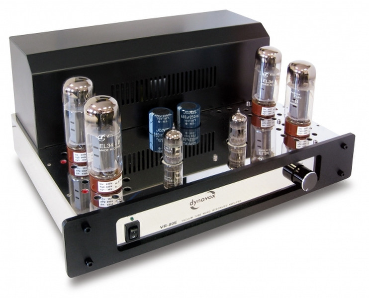 Dynavox VR-80E Дома Проводная Черный, Хром усилитель звуковой частоты