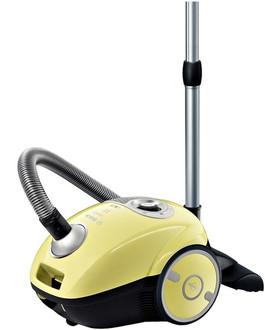 Bosch MoveOn Цилиндрический пылесос 4л 2200Вт Черный, Желтый