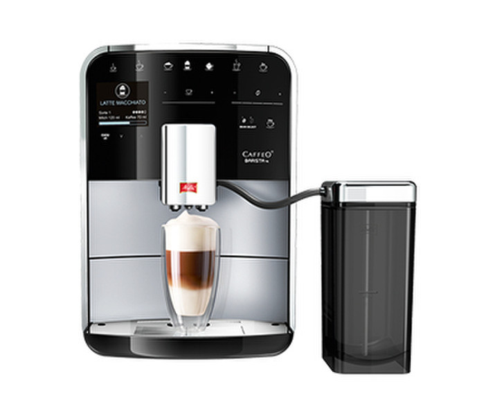 Melitta Caffeo Barista TS Espresso machine 1.8л Черный, Cеребряный